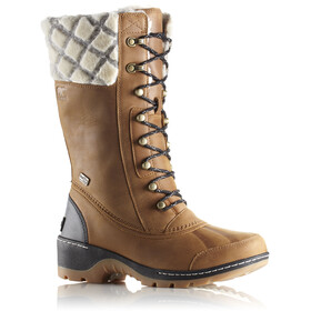 Sorel Whistler Tall Boots Women Camel Brown/Black
